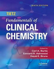 Cover of: Tietz Fundamentals of Clinical Chemistry