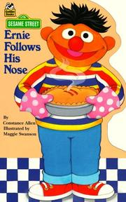 Cover of: Ernie Follows His Nose (Golden Sturdy Shape)