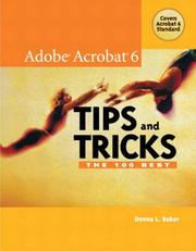 Cover of: The 100 Best Adobe Acrobat 6 Tips and Tricks