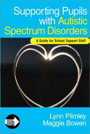 Cover of: Supporting Pupils with Autistic Spectrum Disorders