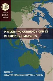 Cover of: Preventing currency crises in emerging markets
