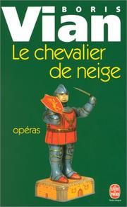 Cover of: Le Chevalier de neige