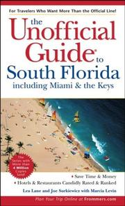 Cover of: The Unofficial Guide to South Florida including Miami & The Keys