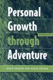 Cover of: Personal Growth through Adventure