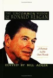 Cover of: The Uncommon Wisdom of Ronald Reagan