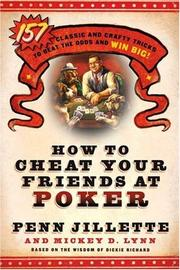 Cover of: How to Cheat Your Friends at Poker