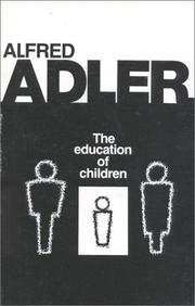 Cover of: The education of children