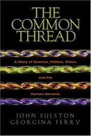 Cover of: The Common Thread