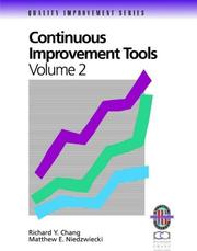 Cover of: Continuous Improvement Tools (Quality Improvement Series)