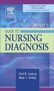Cover of: Mosby's Guide to Nursing Diagnosis