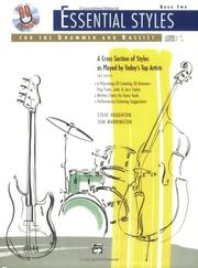 Cover of: Essential Styles for the Drummer and Bassist, Book 2 (Book & Cd) (Essential Styles)