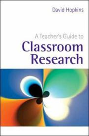 Cover of: A Teacher's Guide to Classroom Research