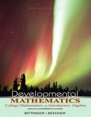 Cover of: Developmental Mathematics