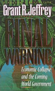 Cover of: Final warning