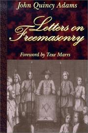 Cover of: Letters on Freemasonry