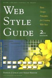 Cover of: Web Style Guide