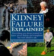 Cover of: Kidney Failure Explained
