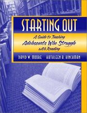 Cover of: Starting Out