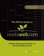 Cover of: The Official Guide to Rootsweb.com
