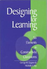 Cover of: Designing for Learning