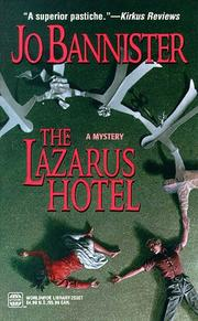 Cover of: Lazarus Hotel (Worldwide Mystery)