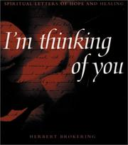 Cover of: I'm thinking of you