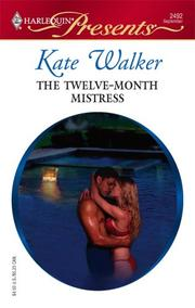 Cover of: The Twelve-Month Mistress
