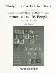 Cover of: America & Its People Volume 1