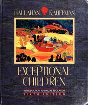 Cover of: Exceptional Children: Introduction to Special Education