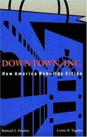 Cover of: Downtown, Inc.