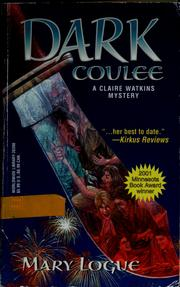 Cover of: Dark Coulee (Worldwide Library Mysteries)