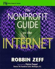 Cover of: The nonprofit guide to the Internet