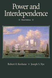 Cover of: Power and Interdependence (3rd Edition)