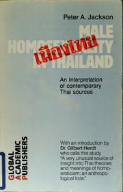 Cover of: Male Homosexuality in Thailand