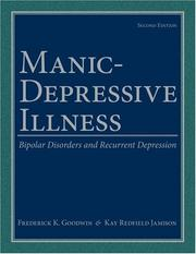 Cover of: Manic-Depressive Illness