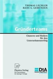 Cover of: Gründerteams