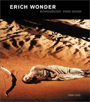 Cover of: Erich Wonder