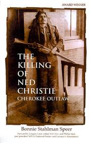 Cover of: The Killing of Ned Christie
