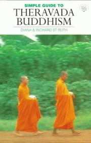 Cover of: The Simple Guide to Theravada Buddhism (World Religion Series)