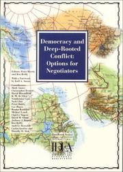 Cover of: Democracy and Deep-Rooted Conflict