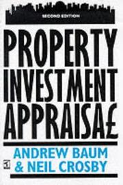 Cover of: Property Investment Appraisal
