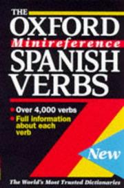 Cover of: Spanish verbs