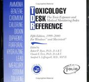 Cover of: Toxicology Desk Reference CD-ROM