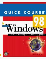 Cover of: Quick Course in Windows 98 (Education/Training Edition)