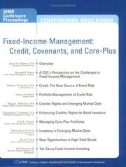 Cover of: Fixed-Income Management