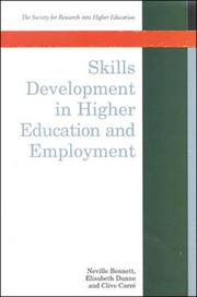 Cover of: Skills Development in Higher Education and Employment (Society for Research into Higher Education)