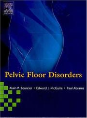 Cover of: Pelvic Floor Disorders