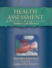 Cover of: Health Assessment & Physical Examination