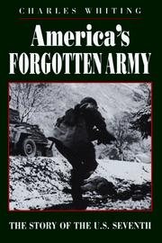 Cover of: America's Forgotten Army