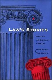 Cover of: Law's stories
